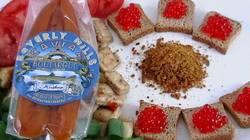 boutargue karasumi french kosher bottarga botarga cured caviar dried caviar mullet roe mullet caviar